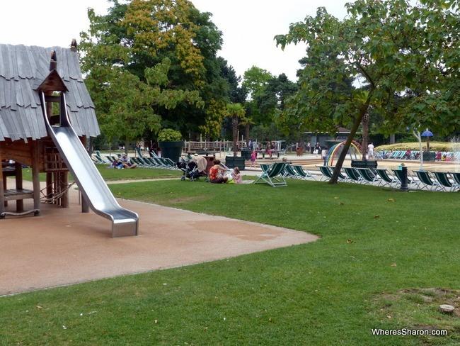 A tiny slice of Jardin d'Acclimatation