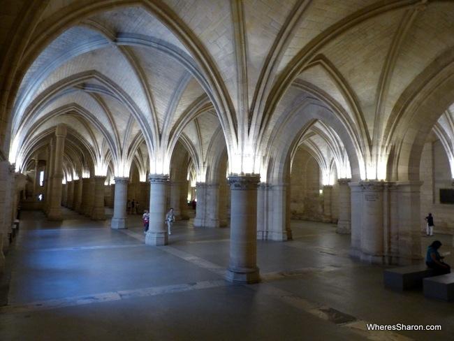 Concierge's medieval hall