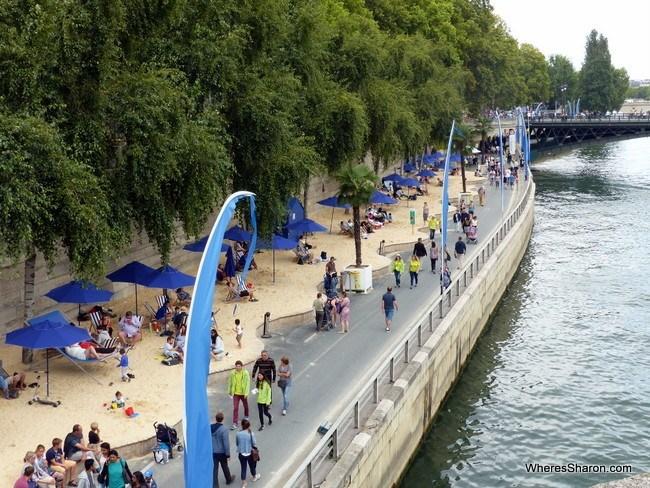 Beach on the Seine