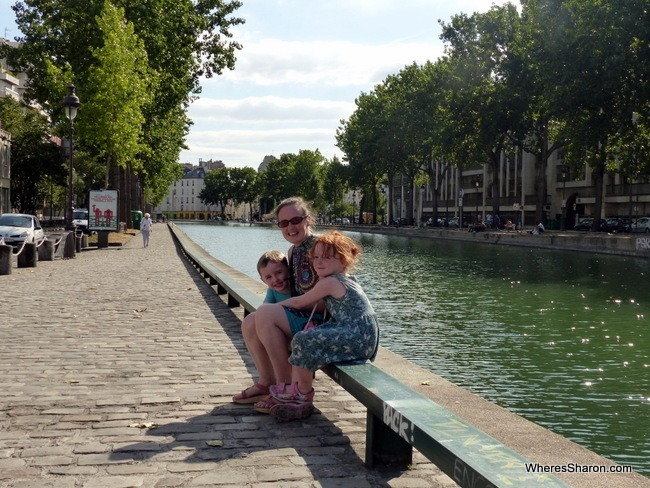 things to do in paris with kids at Canal St-Martin