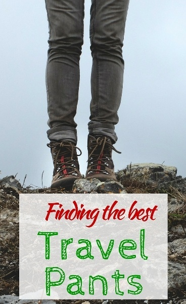 Finding the best travel pants