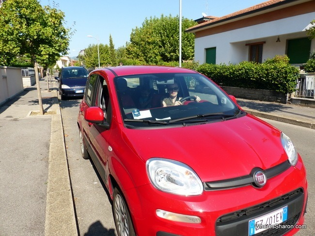 car in tuscany