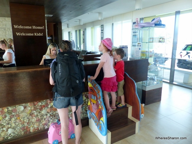 checking in at Falkensteiner Family Hotel Diadora Review
