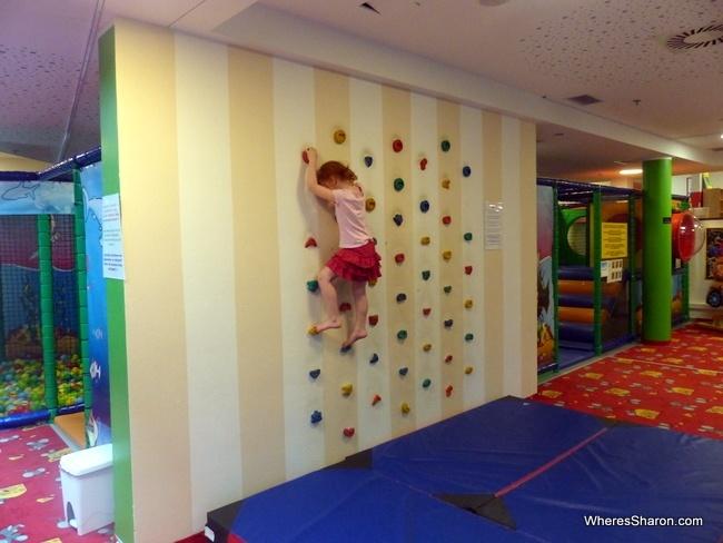 indoor play area at Falkensteiner Family Hotel Diadora