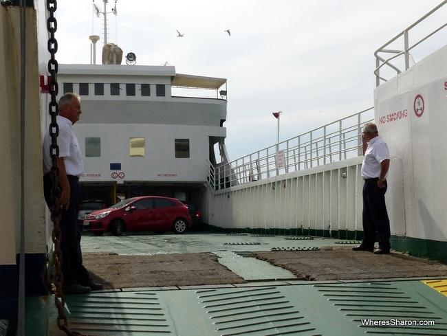 Makarska ferry