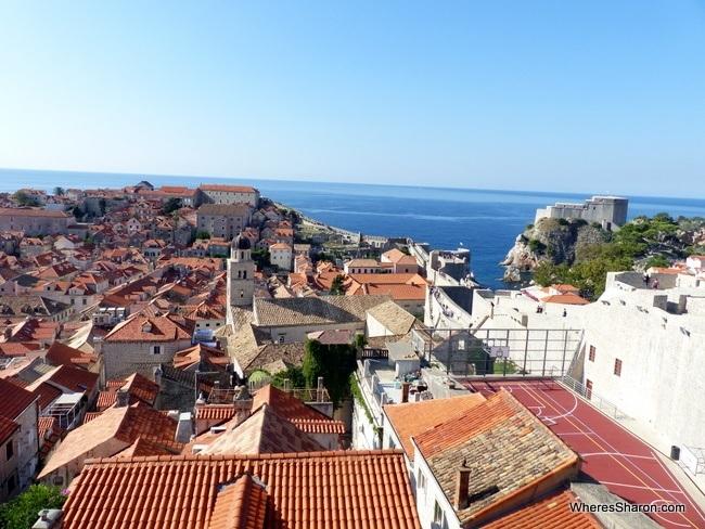 Dubrovnik old town views