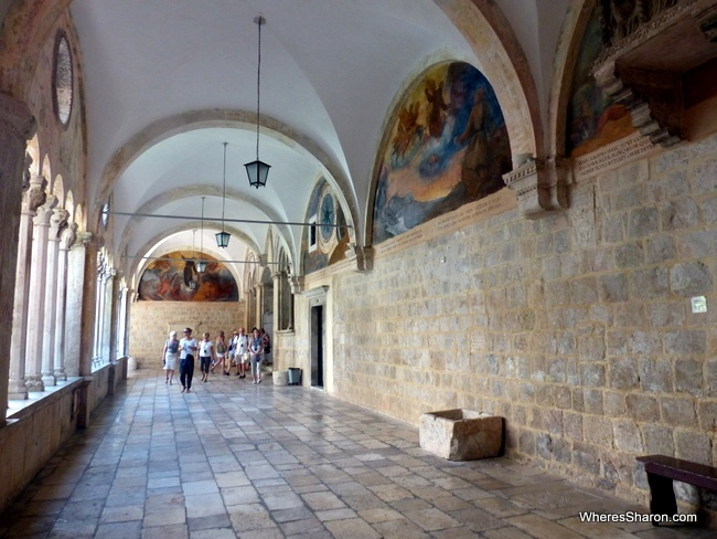 Franciscan Monastery and Museum Dubrovnik tourist attractions