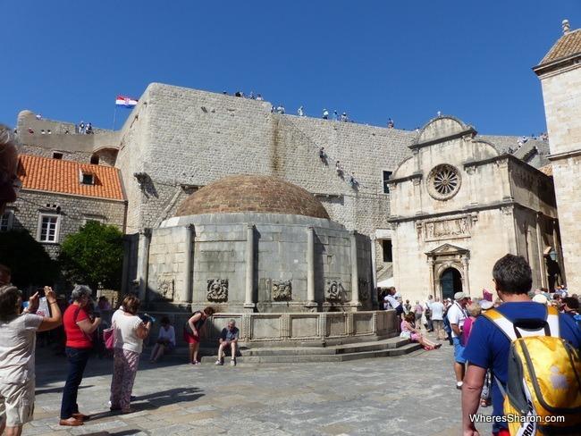 Onofrio Fountain Dubrovnik attraction