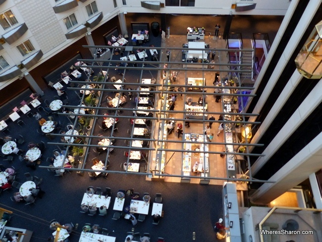 Clarion Hotel Royal Christiania review breakfast and atrium