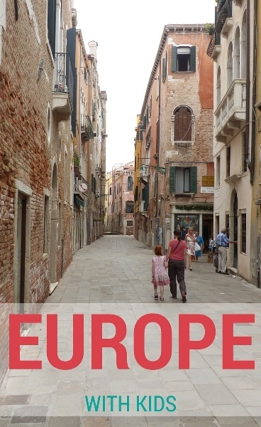 EUROPE with kids s