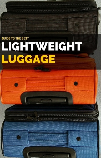 BEST lightweight LUGGAGE reviews
