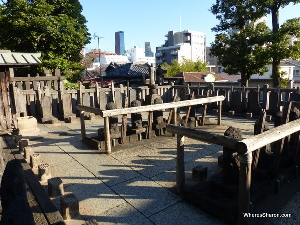 Graves of the 47 Ronin