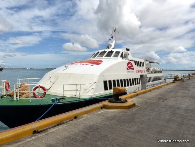 getting to Bohol from Cebu City