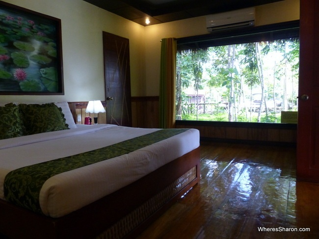 Loboc River Resort family suite