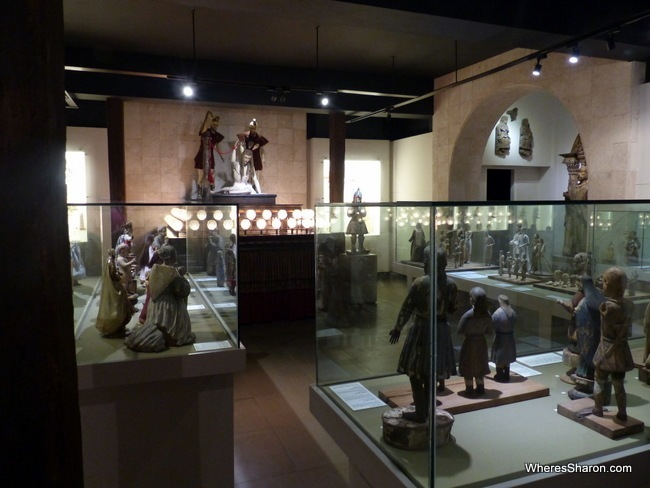 cebu things to do and see at University of San Carlos Museum