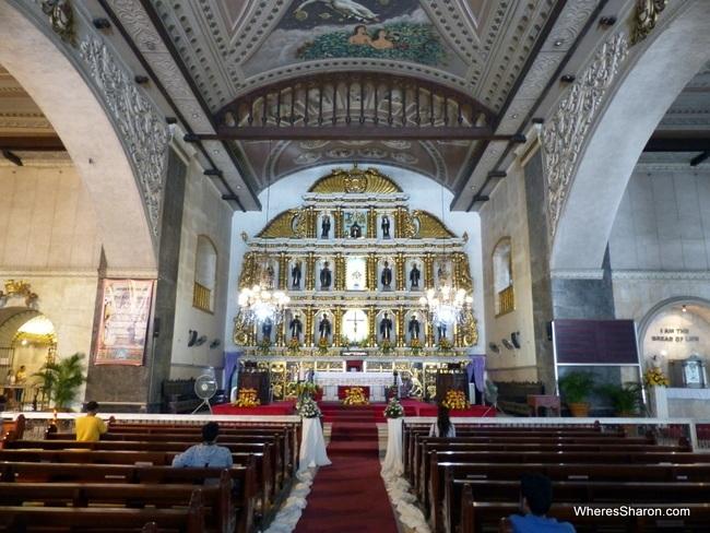 cebu city what to do at the Basilica