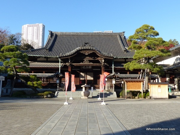 The Sengakuji Shrine, aka the Shrine of the 47 Ronin.