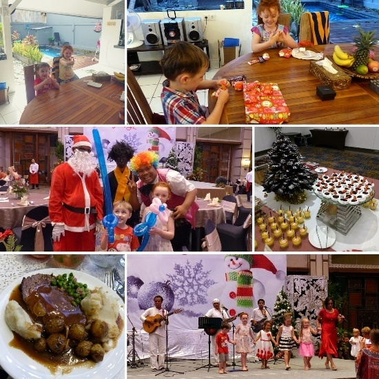 christmas in bali with kids