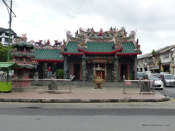 The Hong San Si Temple, near Kuching's China Town