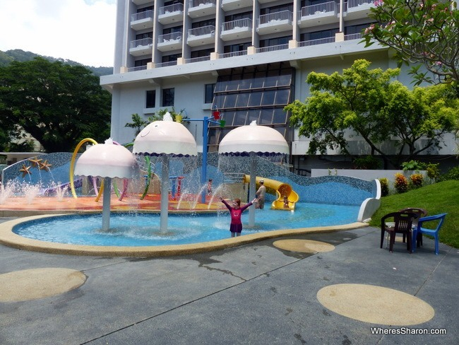 Bayview Beach Resort Penang Water Playground