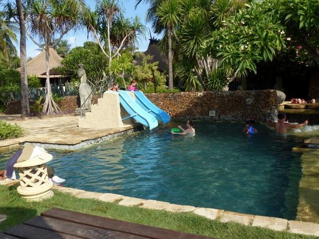 Novotel Lombok pools