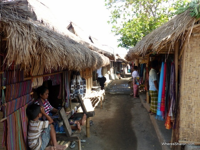 Traditional Sasak Village