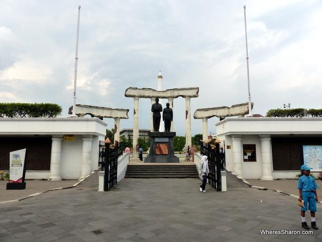 Surabaya Heroes Monument entrance