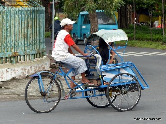 Surabaya rickshaw