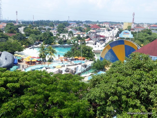 Taman Mini Indonesia Indah Snow Bay Water Park