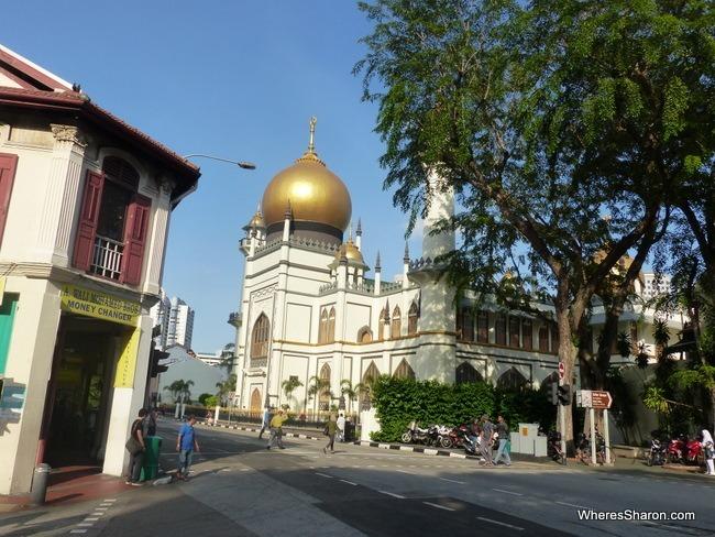 singapore kid activities visit Sultan Mosque