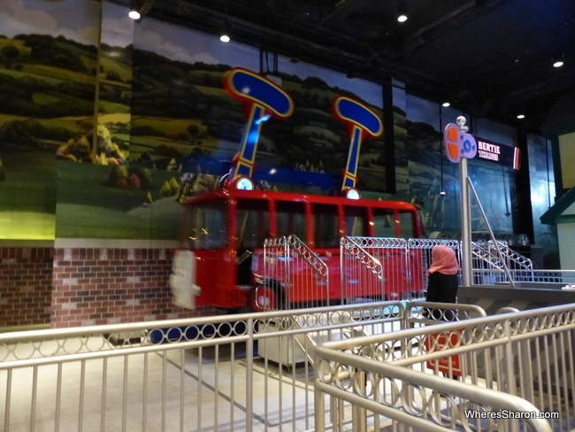 Fun rides at Thomas Town Johor Bahru