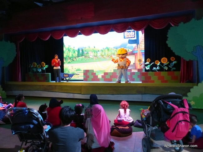 Bob the Builder show at Thomas Town theme park Malaysia