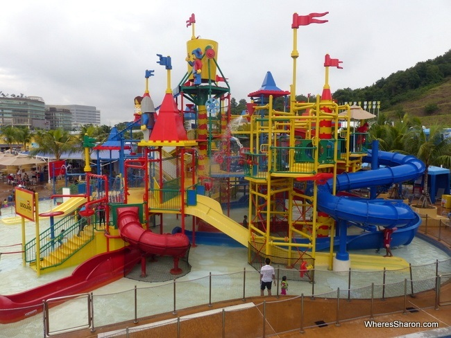 water playground at Legoland Water Park Malaysia