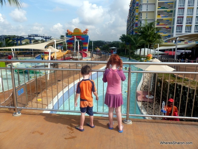 Malaysia Family Vacation At Lazy River Legoland Water Park