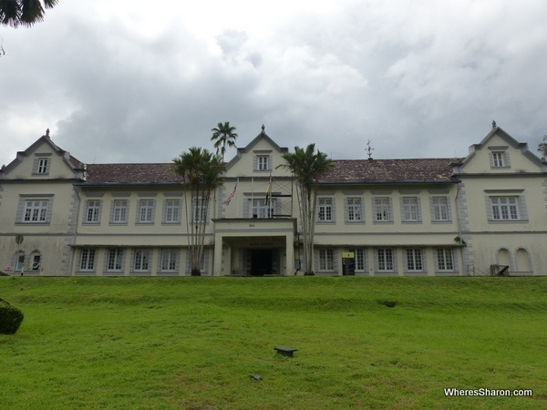 places of interest in kuching is the Sarawak Museum building