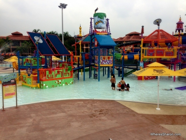 singapore things to do with kids water park at wild wild wet