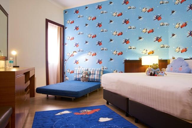 kid themed rooms at Village Hotel Bugis