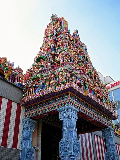 Sri Veeramakaliamman Temple things for kids in Singapore