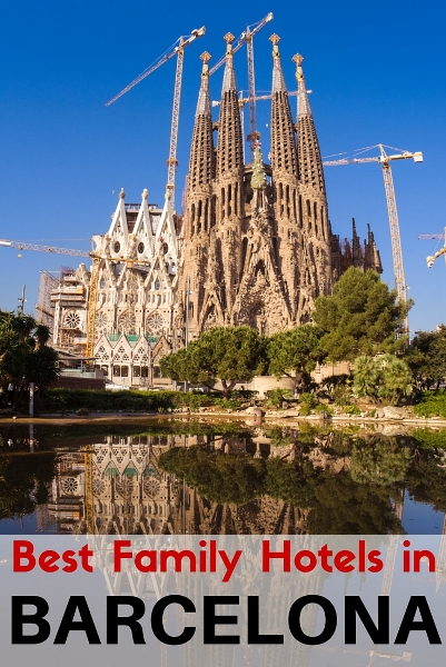 Best family hotels in Barcelona