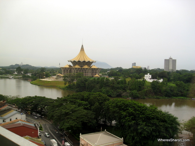 best hotels in kuching views from HV Harbour VIew