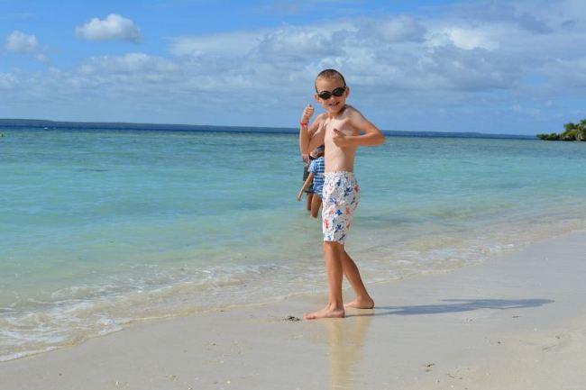 Lifou Island in New Caledonia