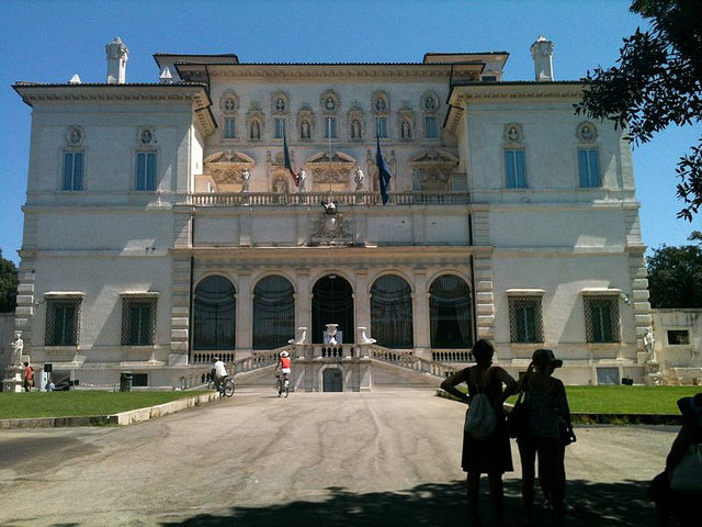 places to visit in rome with kids at Villa Borghese