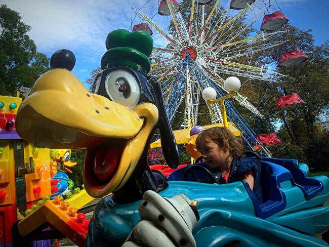 Kalemegdan Park Amusement Ride