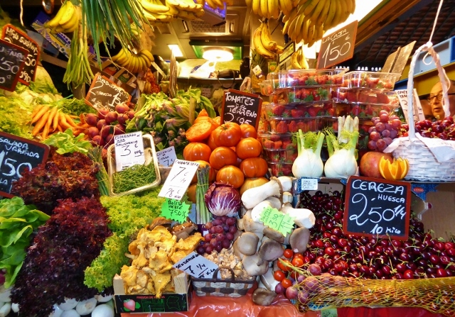 Malaga things to do Central Market