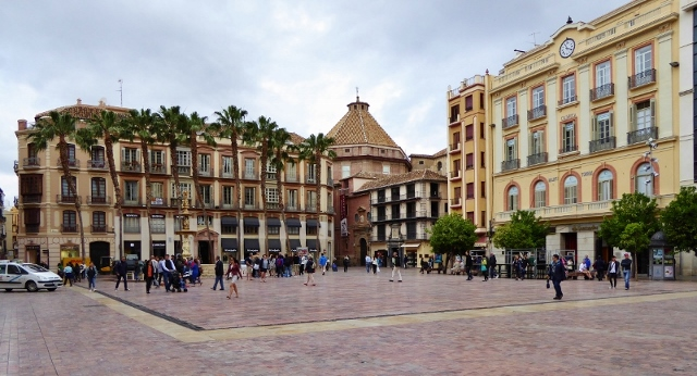 Malaga things to do Plaza de la Constitucion