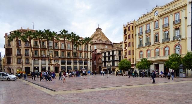 Malaga things to do Plaza de la Constitucion