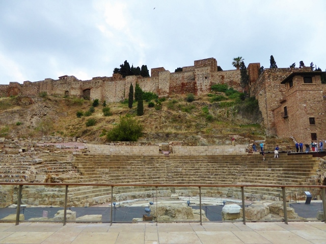 Malaga for kids Roman Theater and Alcazaba