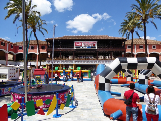 Malaga Things to do with kids Plaza Mayor Movies and Activities