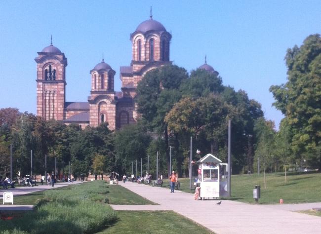 Tasmajdan Park Belgrade things to do