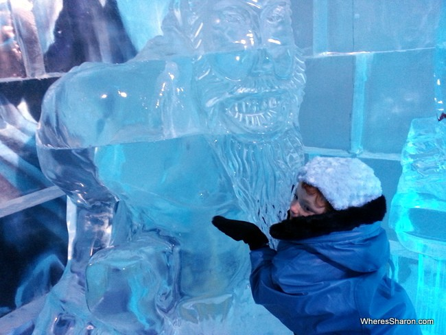 IceBar Melbourne with kids